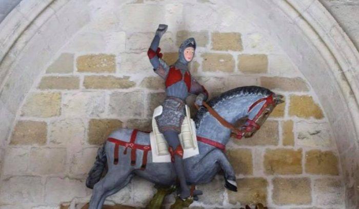 San Jorge y el dragón (Después de la restauración)