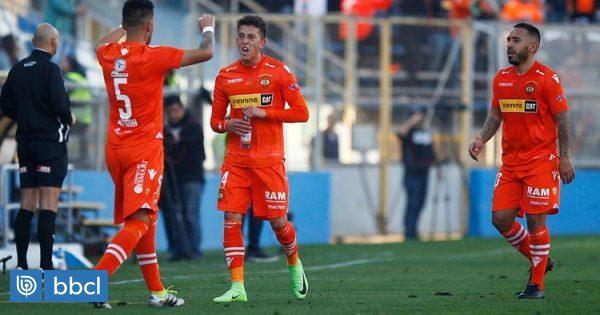 Cobreloa goleó a San Marcos de Arica y encaminó su paso a cuartos de final de Copa Chile