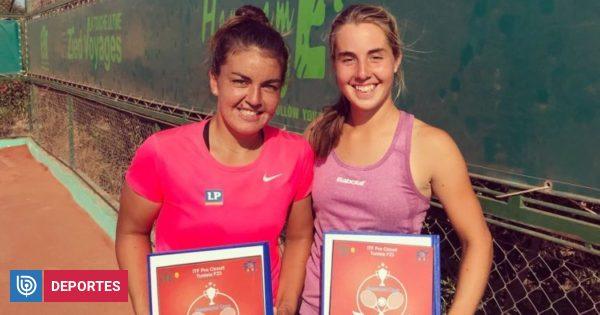 Suma y sigue: Fernanda Brito se coronó campeona de dobles en el ITF 15K de Hammamet