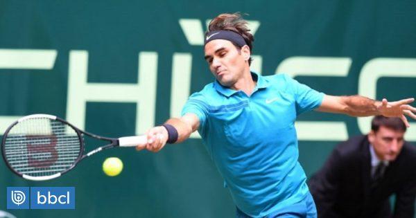 Roger Federer superó a Denis Kudla y avanzó a la final del torneo de Halle
