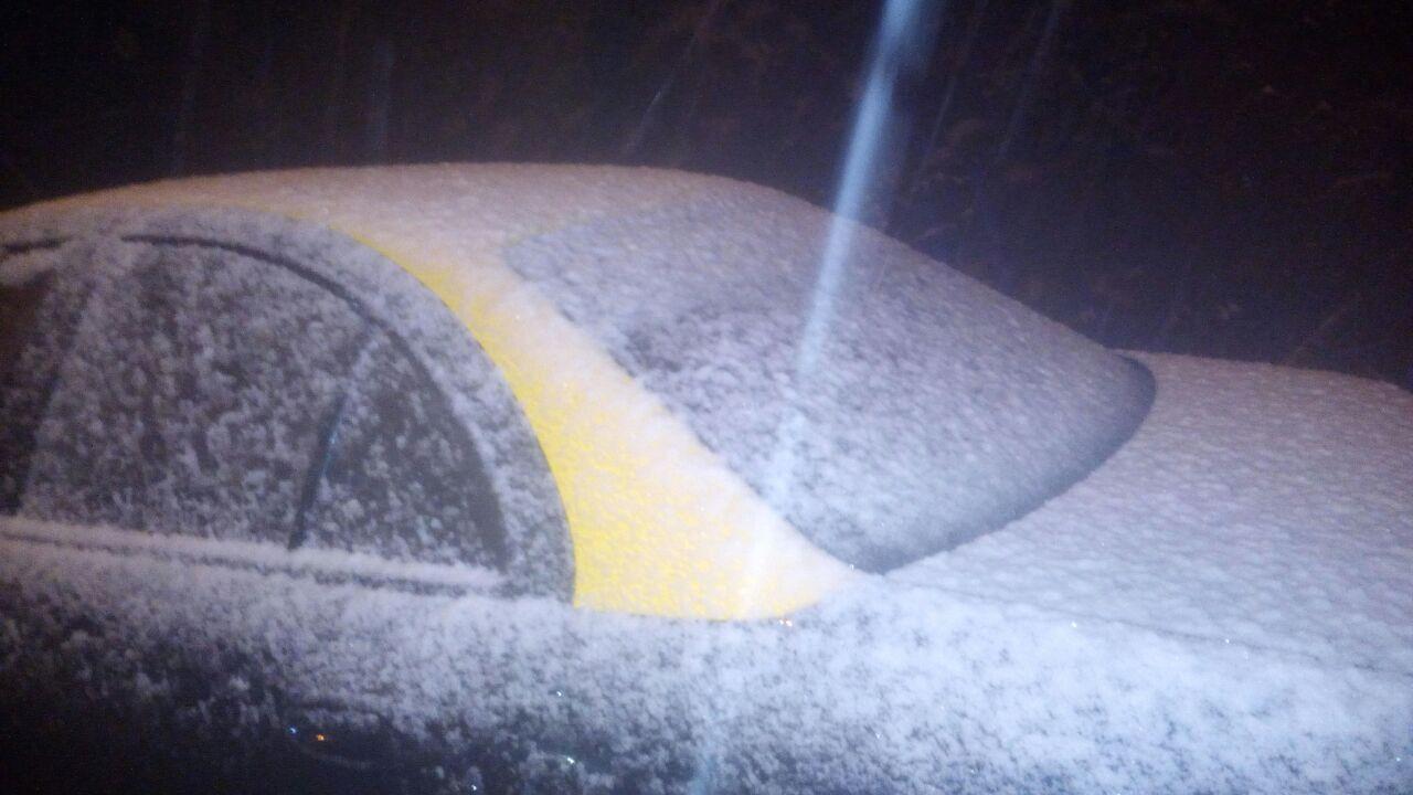 nieve en la región metropolitana