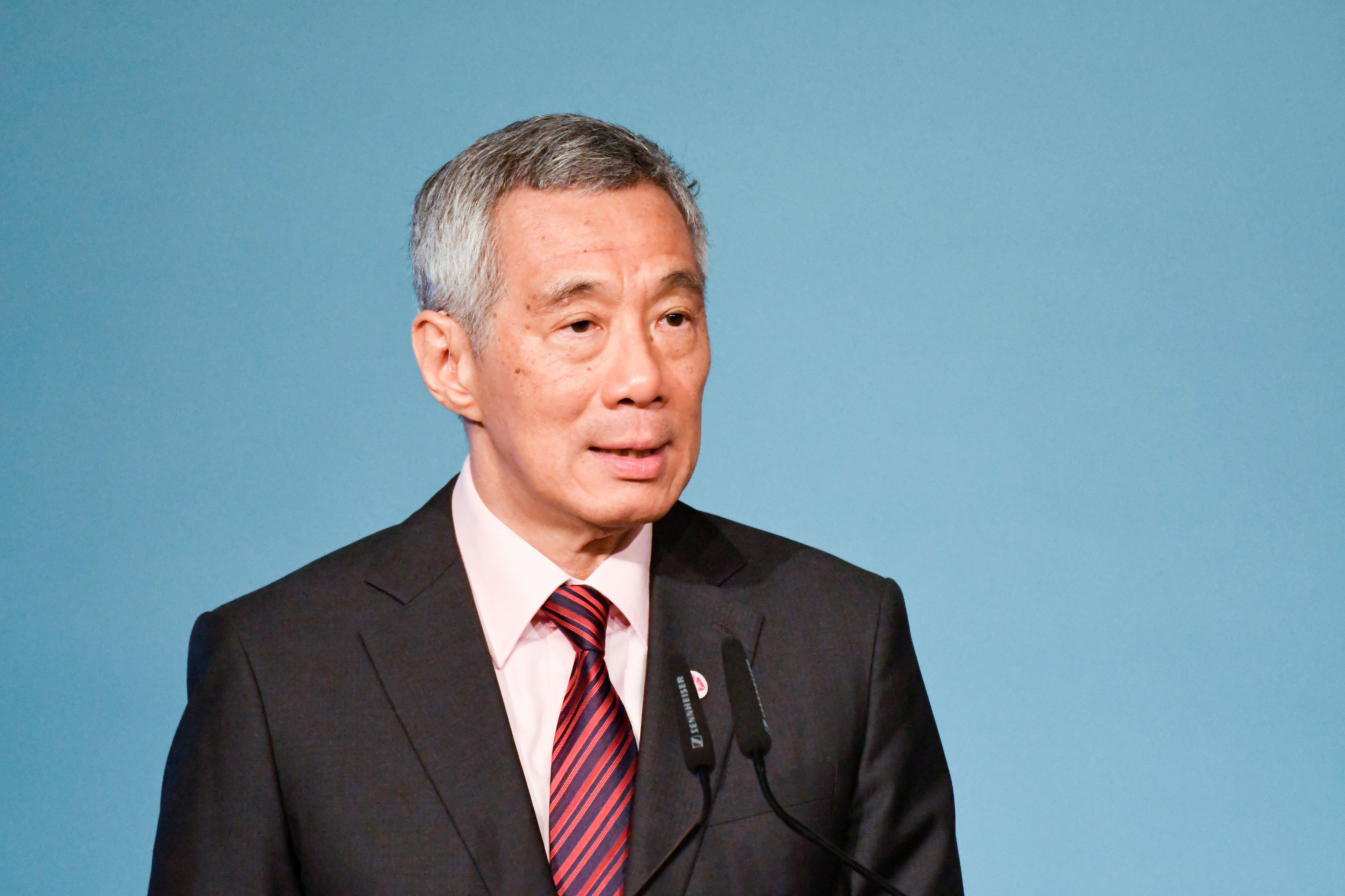 El primer ministro Lee Hsien Loong | Roslan Rahman | Agence France-Presse