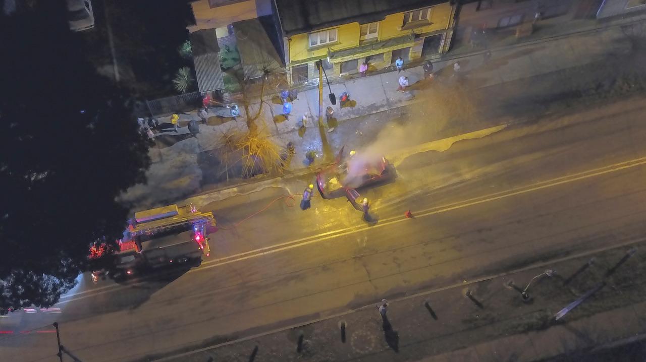 Incendio en Padre Las Casas | Belén Saldías (RBB)