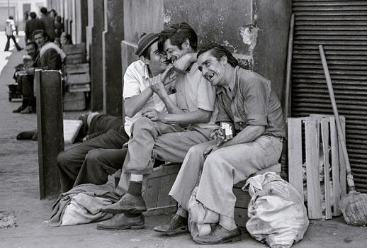 Compadres, 1987, Paz Errázuriz, MNBA (c)