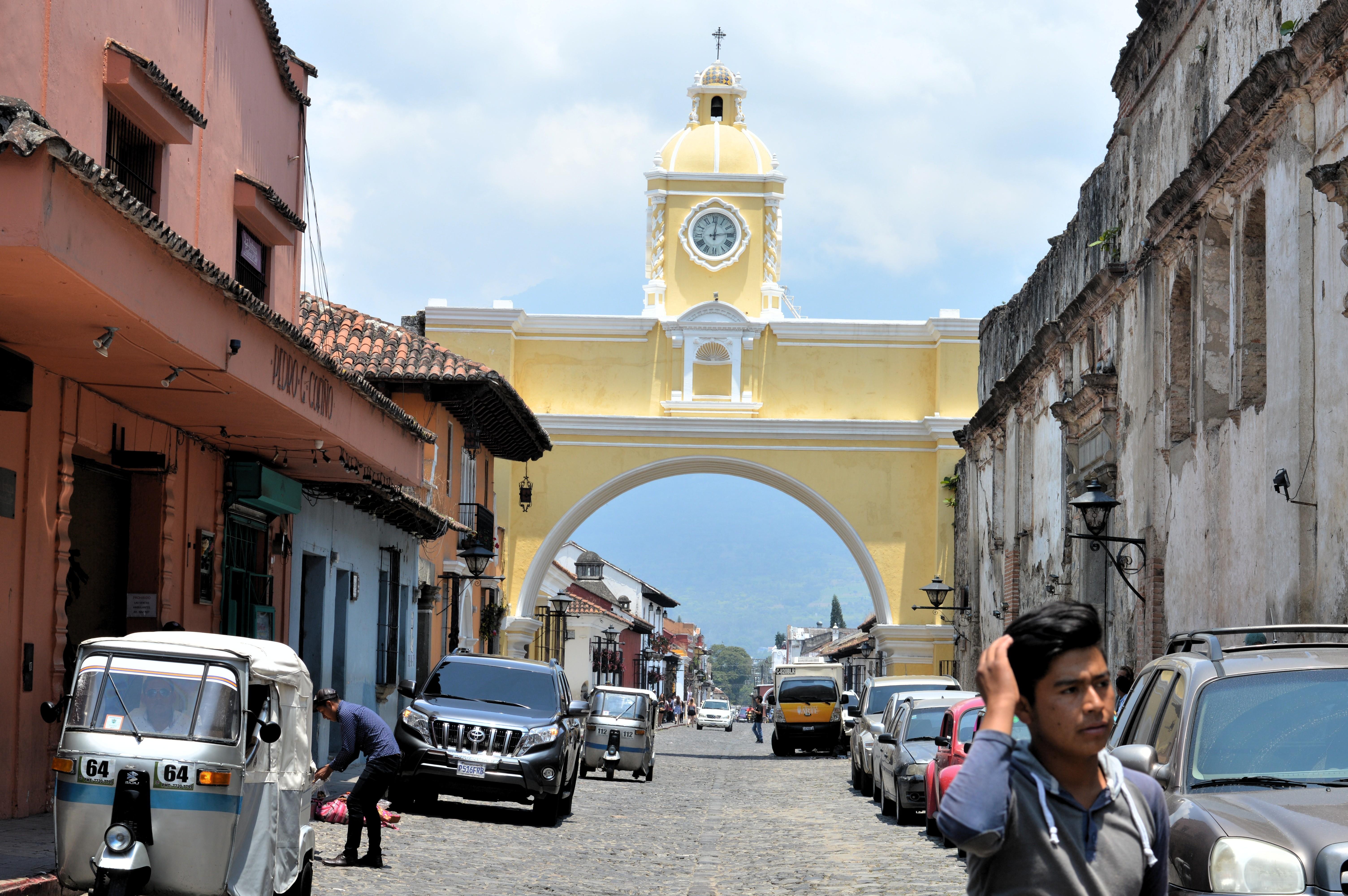 Antigua Guatemala. La urbe más turística del país fue una de las zonas más afectada por las cenizas del volcán de Fuego | Jonathan Flores | BBCL en Guatemala