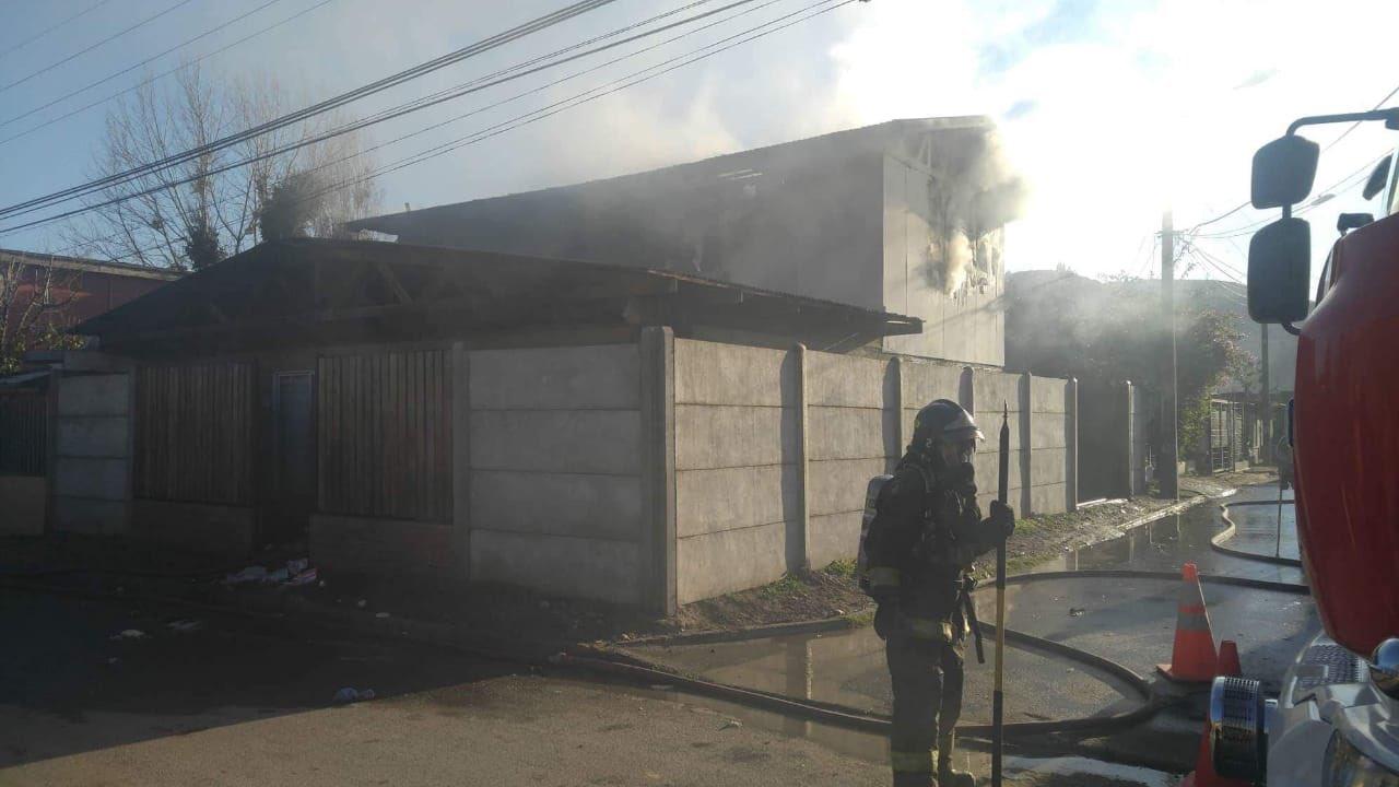 Incendio en Quillota
