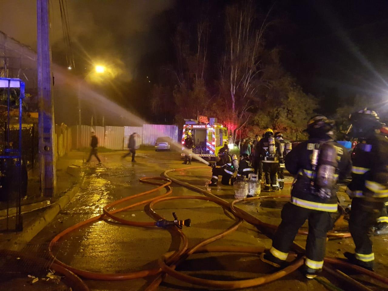 Incendio en cerro Delicias | RNE Valparaíso