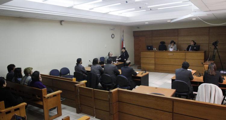 Lectura de sentencia de ayer sábado | Agencia UNO