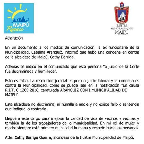 Municipalidad de Maipú | Facebook