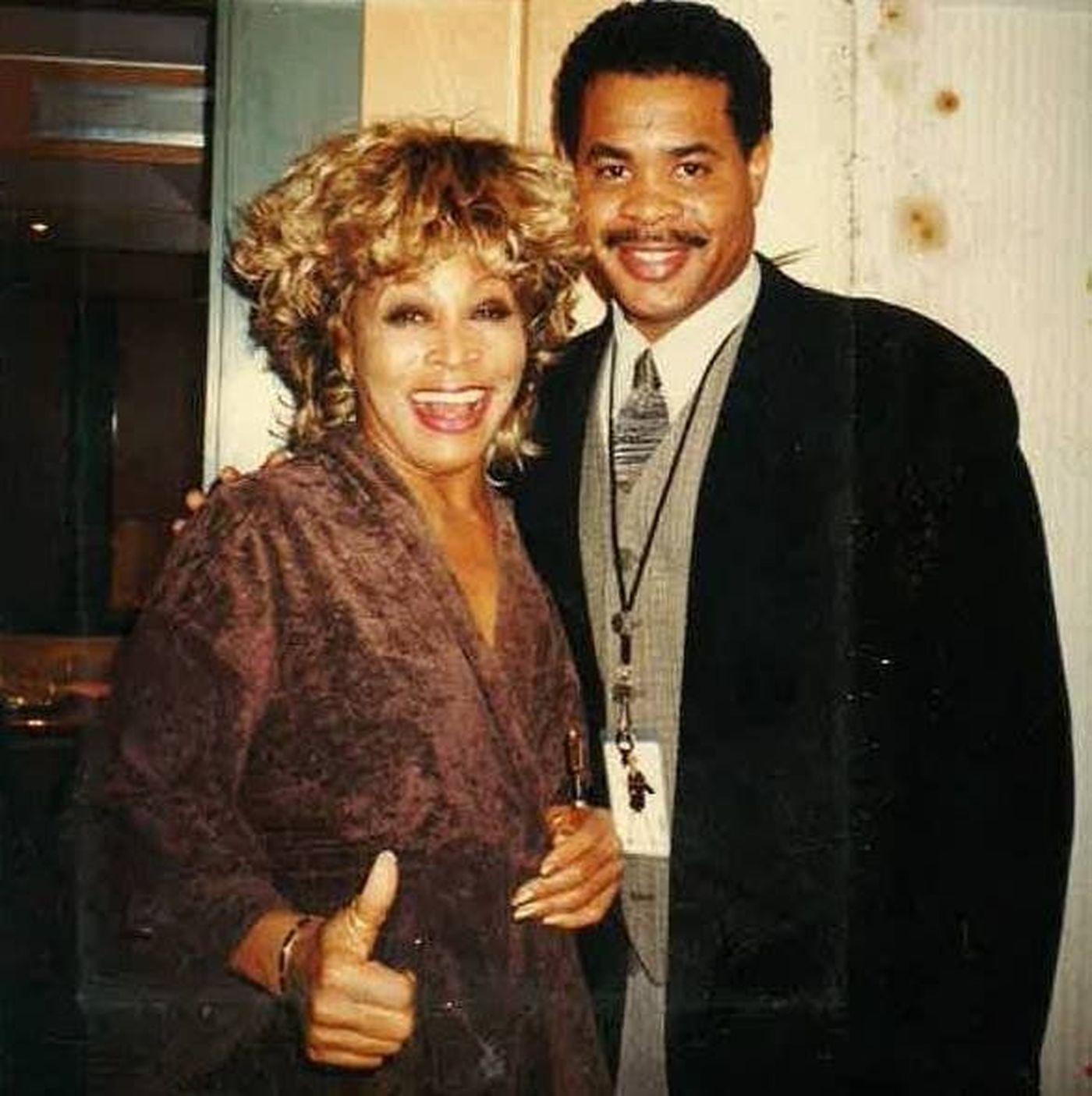 Tina y su hijo Craig Turner