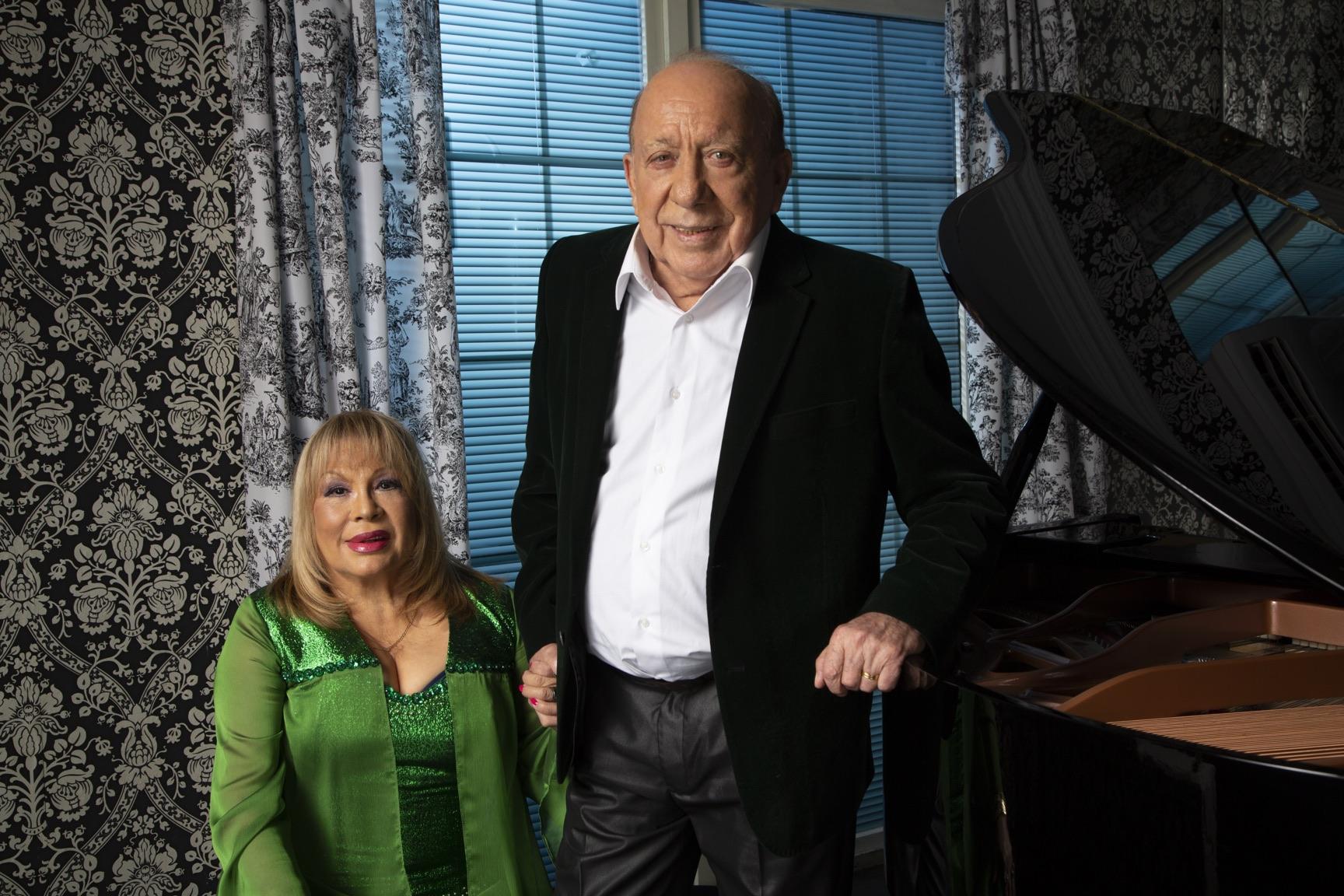 Palmenia Pizarro y Buddy Richard | Cedida