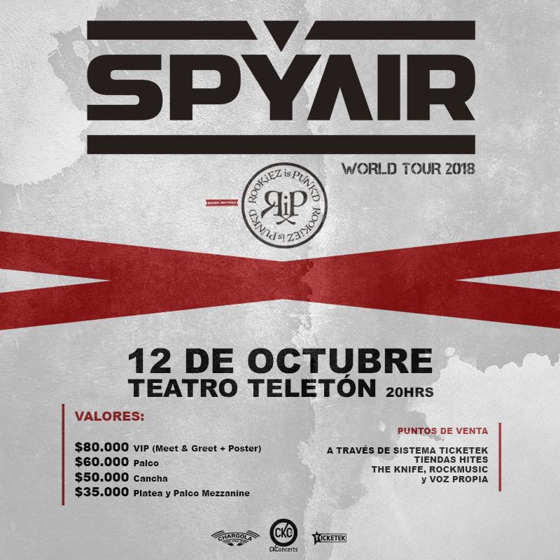 Spyair en Chile.
