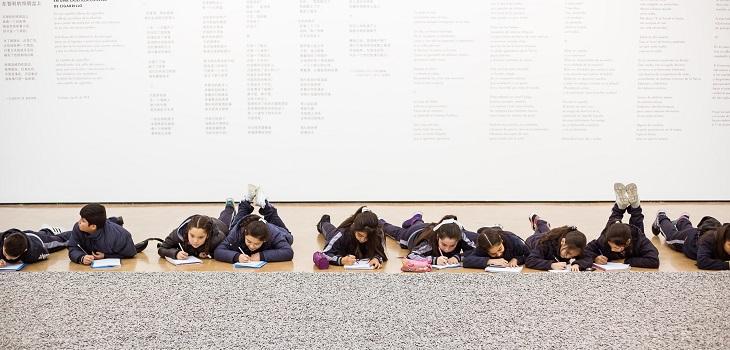 Recorrido por exposición de Weiwei, CorpArtes (c)