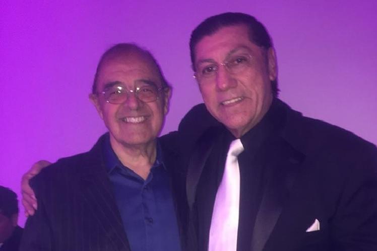 Orlando Salinas y Mario Gutiérrez