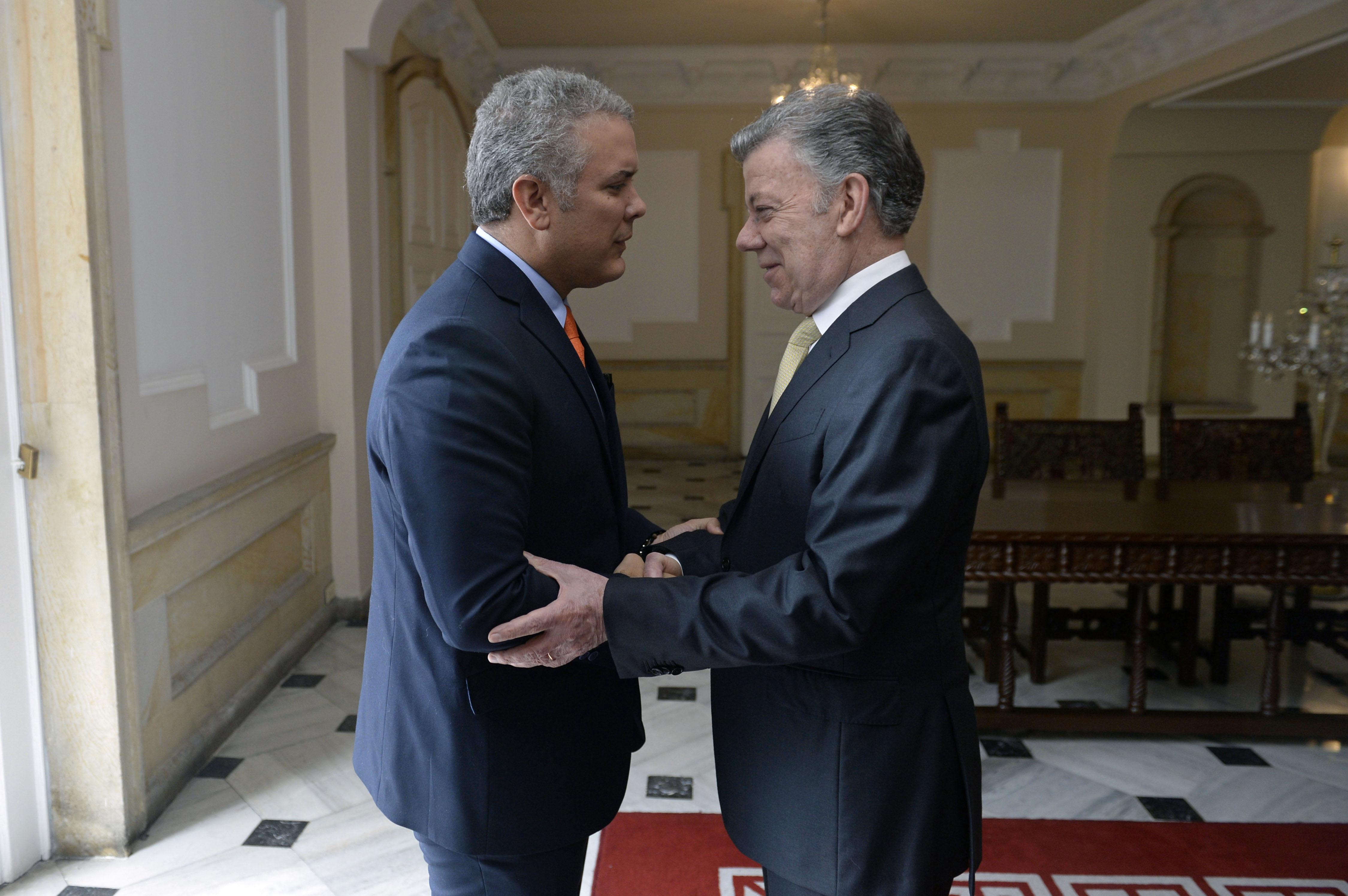 Presidencia Colombiana | Juan David Tena | Agence France-Presse