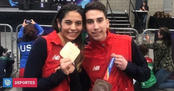 Ignacio Morales y Fernanda Aguirre se colgaron medallas en el Panamericano de Taekwondo