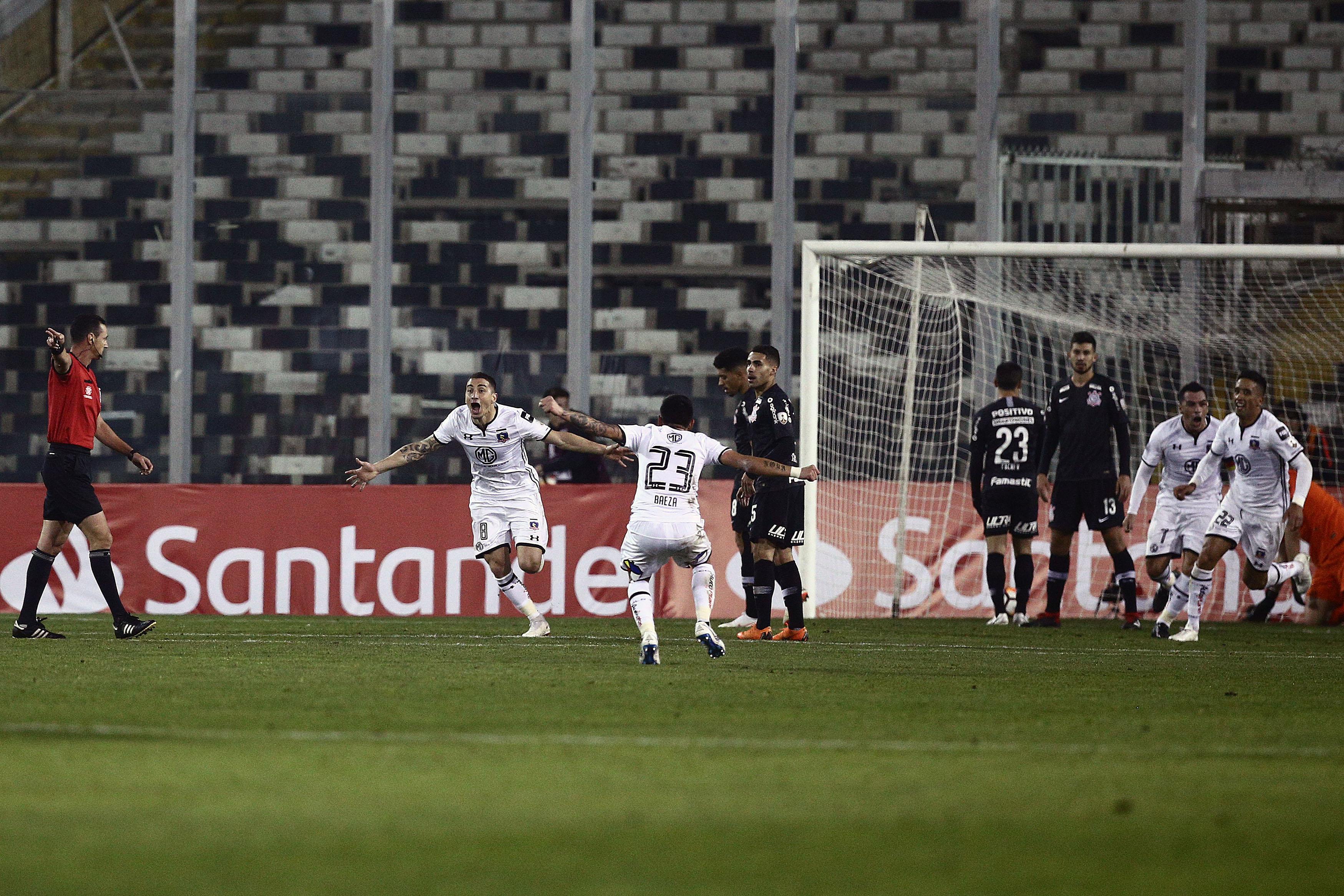 Gol de Carmona en la ida | Claudio Reyes | Agence France Press