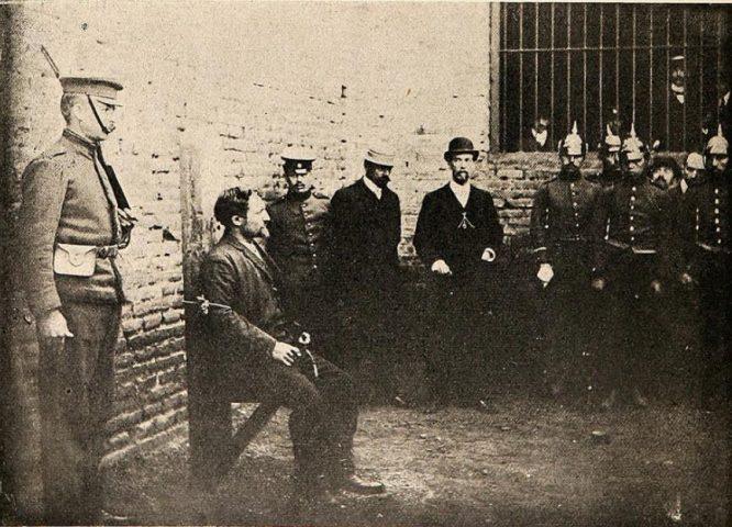 Fusilamiento Emile Dubois | Wikipedia Commons