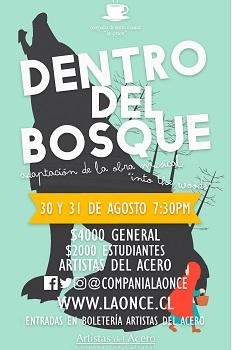 Dentro del Bosque, Compañía de Teatro Musical La Once (c)