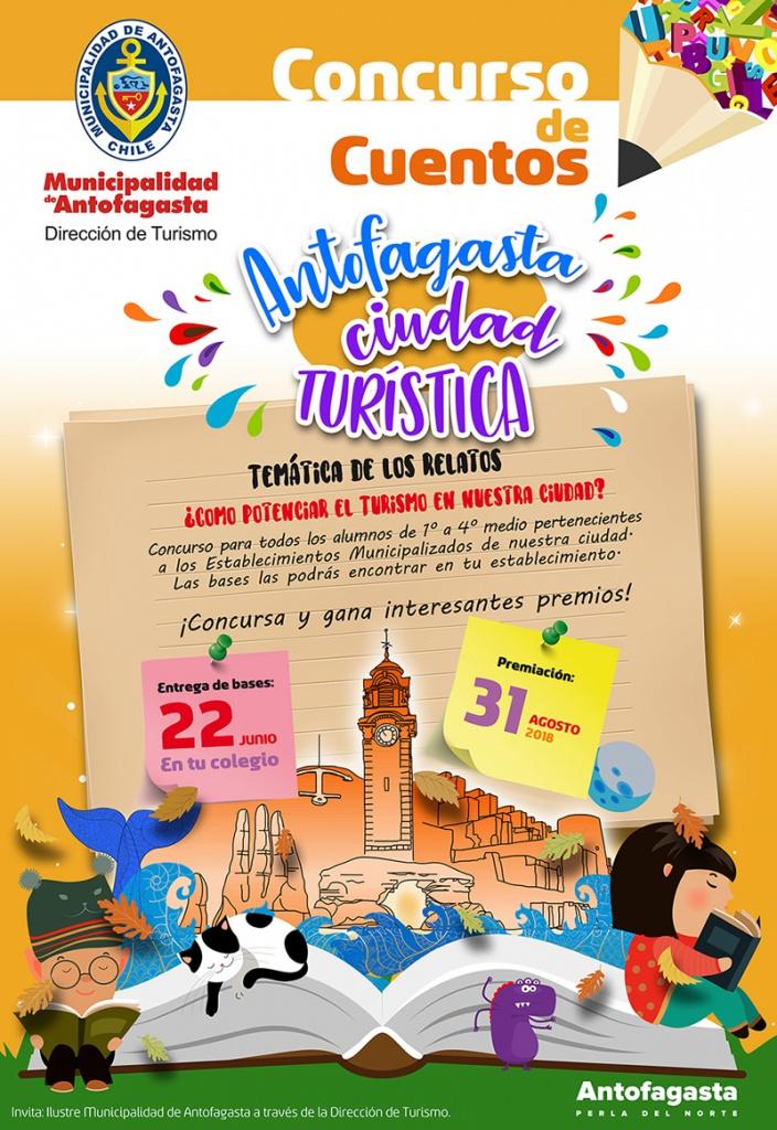 Concurso escolar de cuentos de turismo | Municipalidad de Antofagasta
