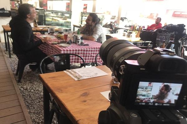 Entrevista realizada en Mattarello Restaurante