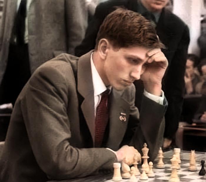 Bobby Fischer en 1960 (CC) Wikimedia Commons