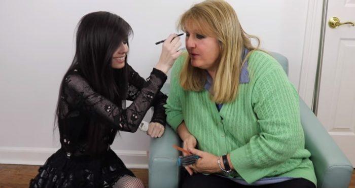 Eugenia y su mamá