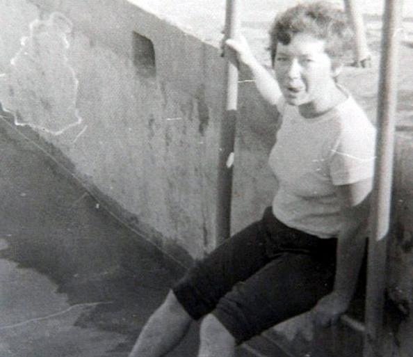 Elena Basykina en 1987 | Daily Mail