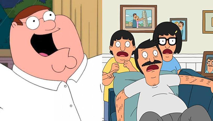Padre de Familia (izquierda) | Bob's Burgers (derecha)