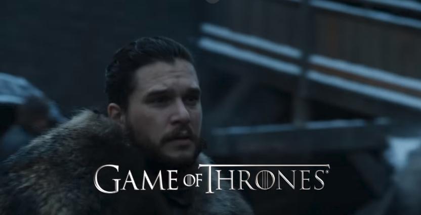 """Jon Snow en la octava temporada de """"Game of Thrones"""""""