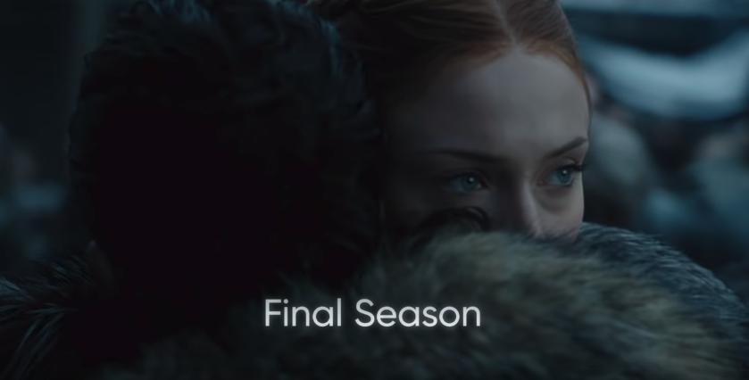 "Sansa Stark en la octava temporada de ""Game of Thrones"""