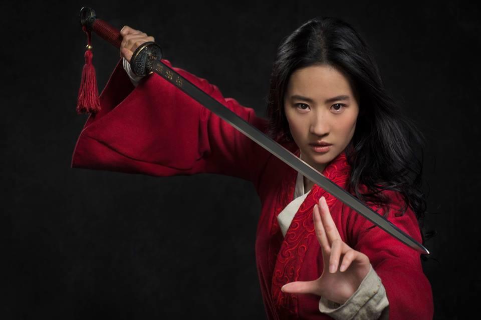 Liu Yifei como Mulán | Disney
