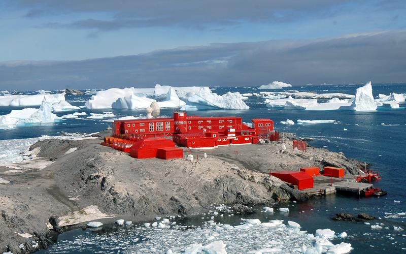 Base Bernardo O'Higgins en la Antártica | Gentileza INACH