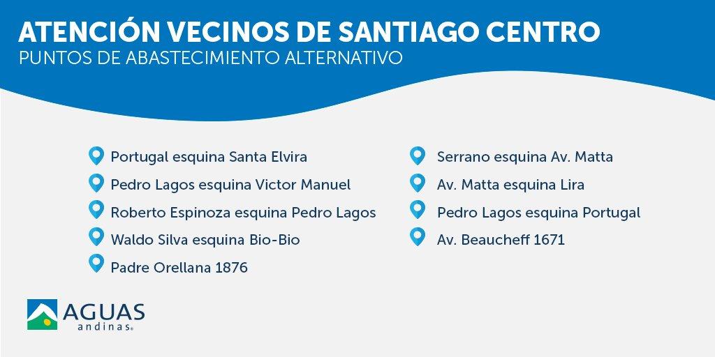Aguas Andinas | Twitter