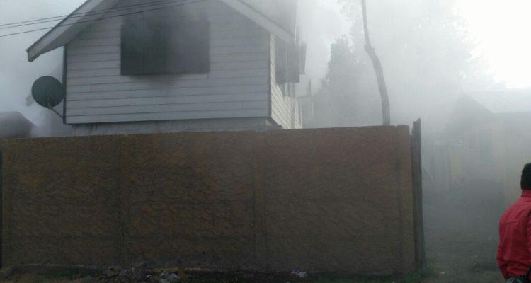Casa de Carlos Spielman quemada sólo un día después del doble homicidio | Archivo
