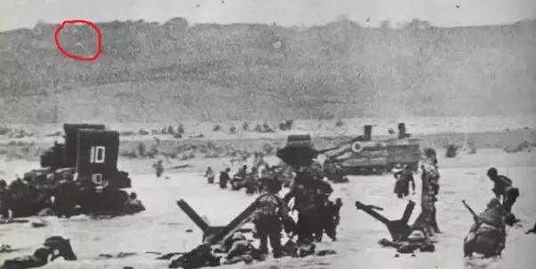Zona de la playa Omaha donde Severloh habría disparado por 9 horas