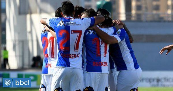 Deportes Antofagasta sigue en la parte alta de la tabla tras vencer a Curicó Unido