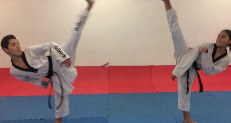 Nicolás Cofre y Paulina Horta | Club Taekwondo Extremo