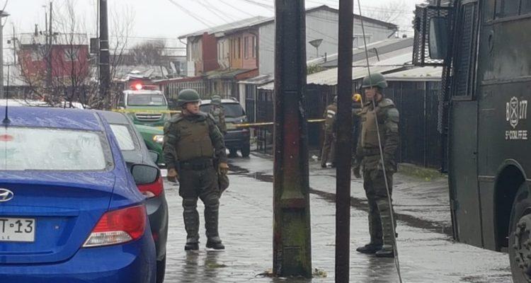 Balacera en San Pedro de la Paz | Danilo Ormeño (RBB)