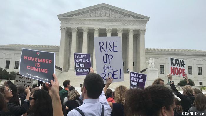 Protestas contra Brett Kavanaugh por acusaciones de abuso en Washington DC | DW