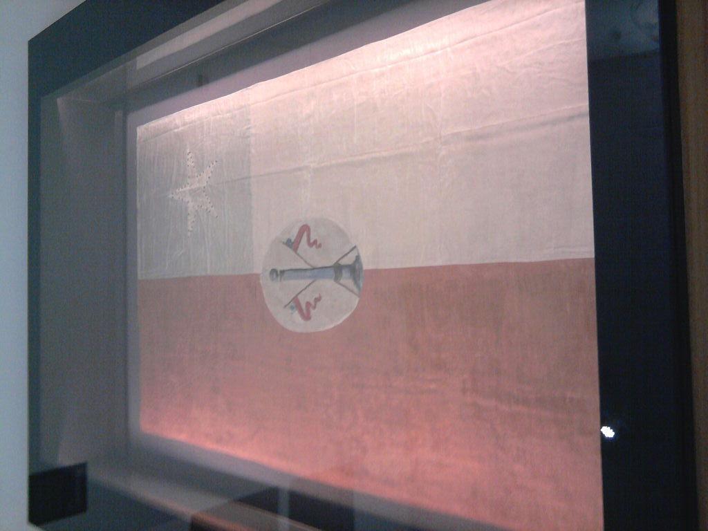 La original está en exposición en el Museo Histórico Nacional | Juan Carlos Saavedra Vergara