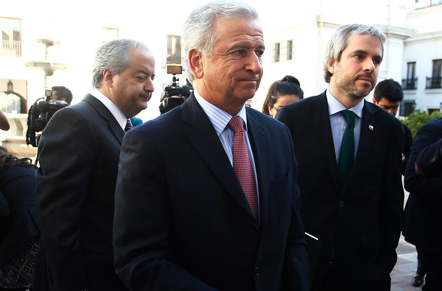 Ministros tras anunciar el principio de acuerdo | Rodrigo Sáenz | Agencia UNO