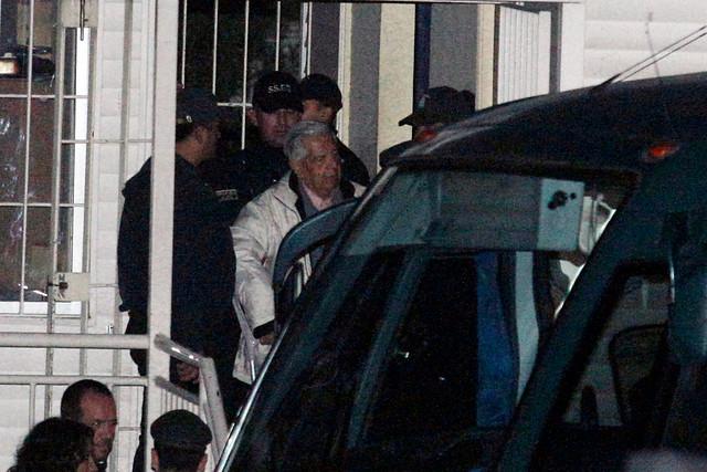 El 8 de septiembre de 2013, Contreras fue trasladado desde el Penal Cordillera a Punta Peuco | Agencia UNO