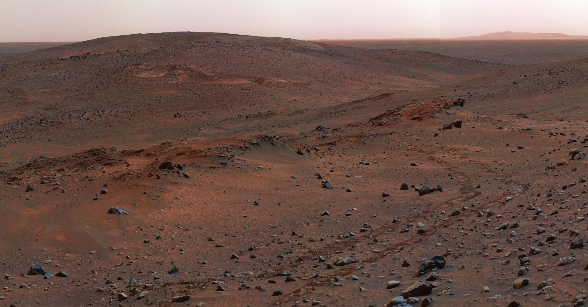 Vista de Marte (CC) Wikimedia Commons