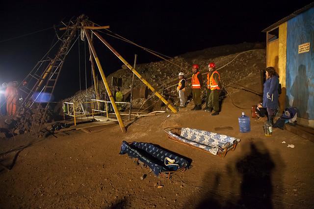 Rescate de mineros atrapados en Mina Julia, Taltal | Agencia UNO
