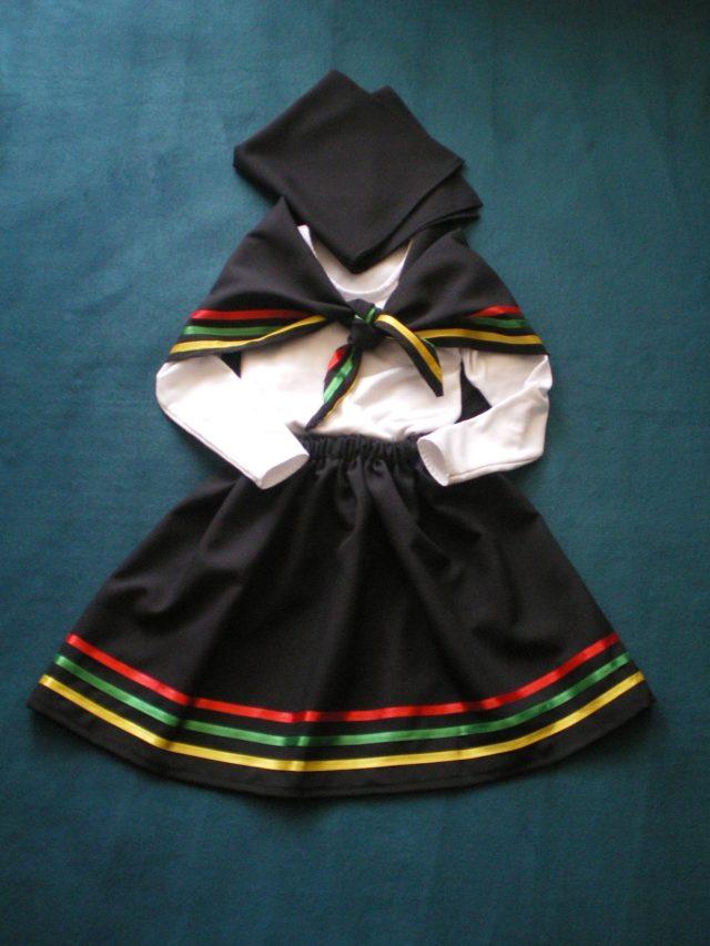 Erróneo vestuario femenino nortino
