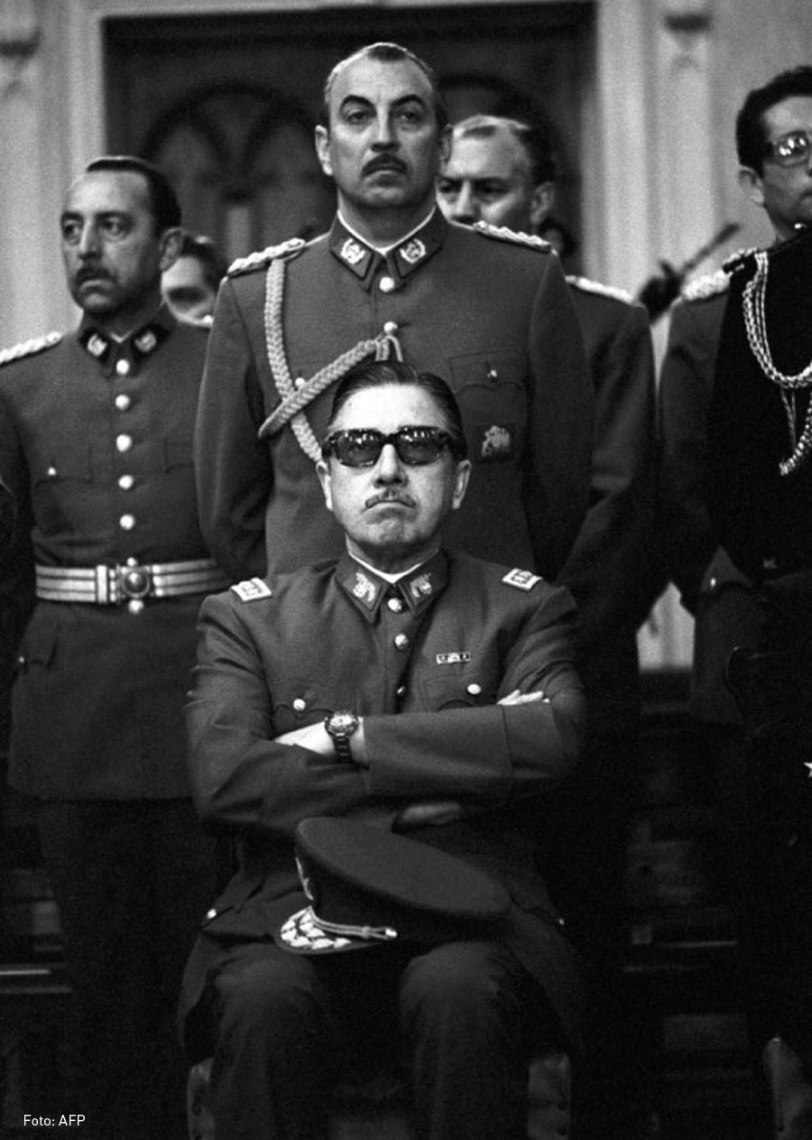 Augusto Pinochet (CC) Wikimedia Commons