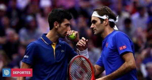 Roger Federer y Novak Djokovic pierden en su estreno de dobles de la Laver Cup