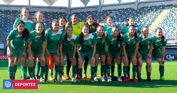 La molestia de Loreto Rojas-Trelles por el mal estado de las canchas del fútbol femenino