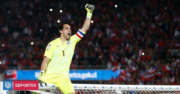 Claudio Bravo se confesó con Revista Caras: Me encantaría jugar la Copa América y ganarla